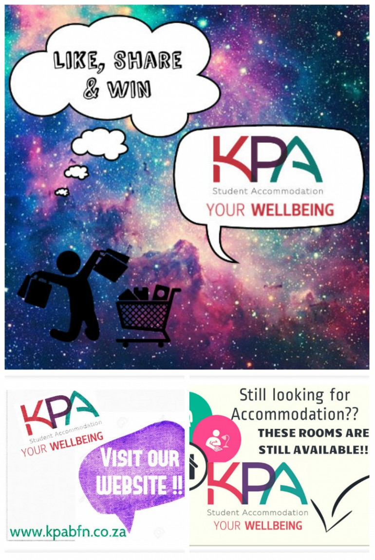 Somewhere on this planet there are students that need accommodation. Why not share Kpa Student-Accommodation with them