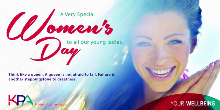 Student Accommodation Women's Day