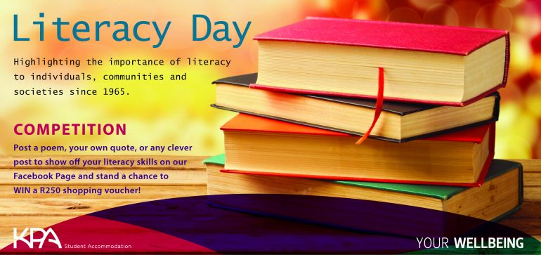Literacy Day 2016-01 KPA Student Accommodation