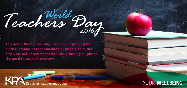World Teachers Day-KPA Student Accommodation