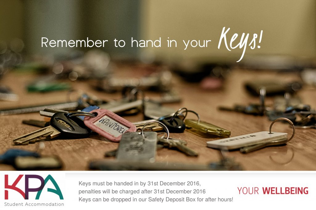 Hand in Keys KPA Student Accommodation
