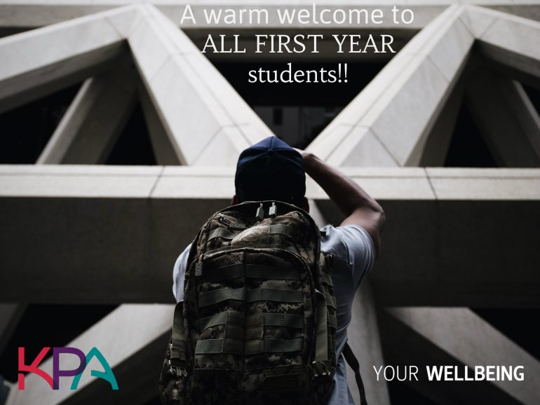 2017 First years KPA Student Accommodation