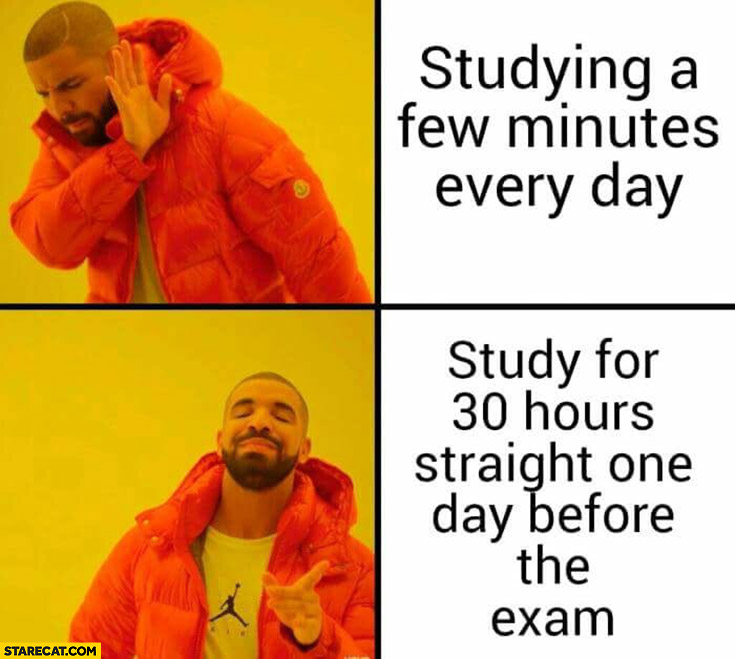 exam emotions