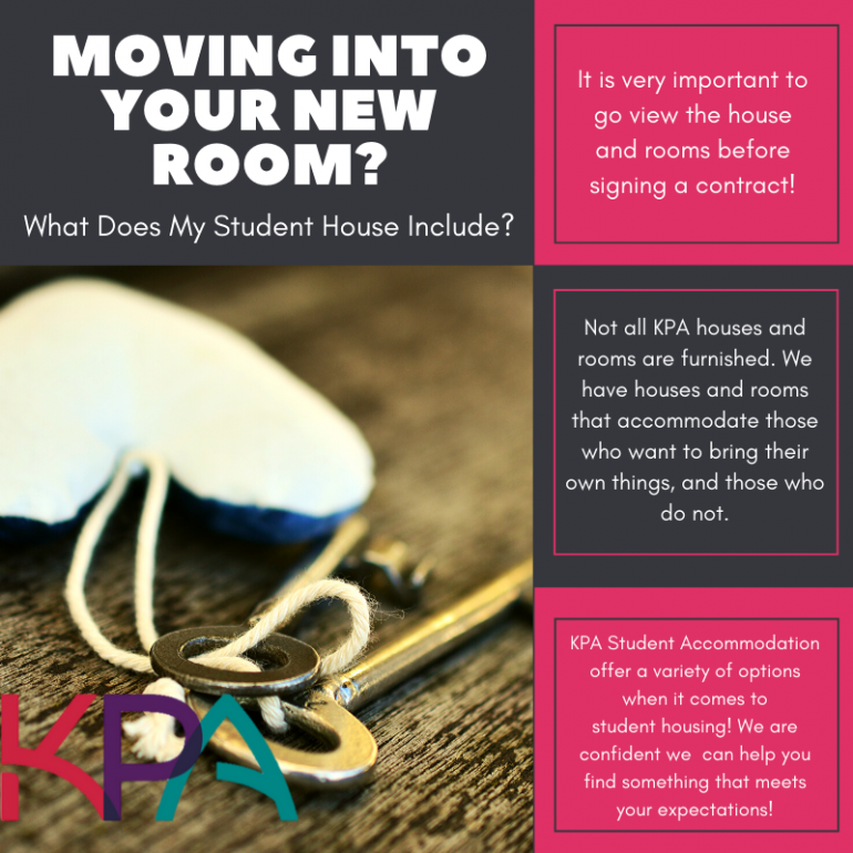 What you will need to rent a room!