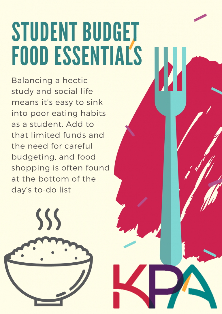 Student Budget Food Essentials